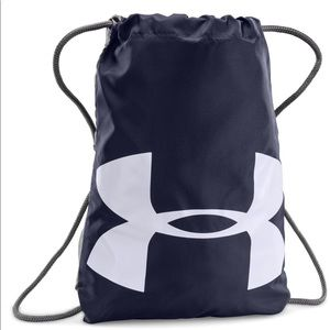 Under Armour | Drawstring Bag with Clip Blue Grey